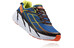 Hoka M's Clifton 3 Shoes BLUE/RED ORANGE